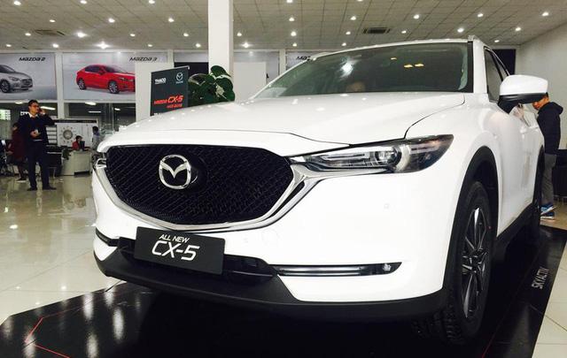 Mazda CX-5 tăng giá cao nhất 30 triệu đồng từ 2018 - Ảnh 1.