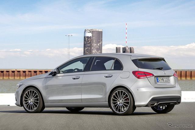Xem trước hình hài có thể của Mercedes-Benz A-Class 2019 - Ảnh 1.