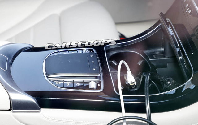Mercedes-Benz GLC 2019 lộ ảnh nội thất - Ảnh 4.