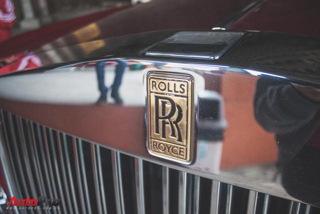 Gặp lại Rolls-Royce Phantom đỏ mận của ông chủ khu du lịch Đại Nam - Ảnh 4.