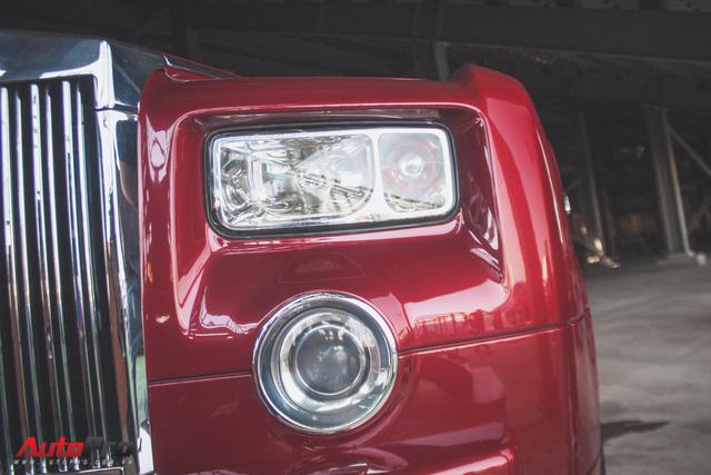 Gặp lại Rolls-Royce Phantom đỏ mận của ông chủ khu du lịch Đại Nam - Ảnh 5.