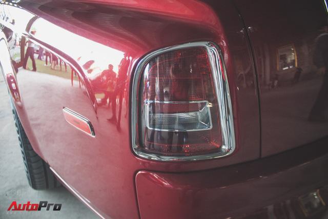 Gặp lại Rolls-Royce Phantom đỏ mận của ông chủ khu du lịch Đại Nam - Ảnh 8.