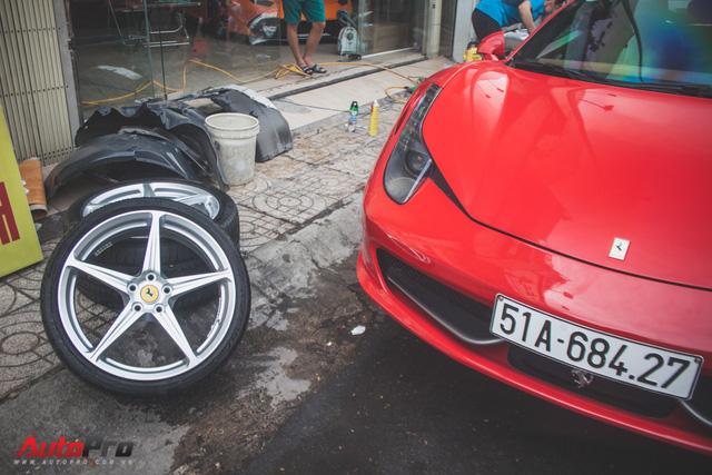 Ferrari 458 Italia từng của Phan Thành tái xuất trên phố - Ảnh 4.