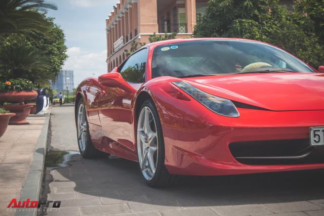 Ferrari 458 Italia từng của Phan Thành tái xuất trên phố - Ảnh 6.