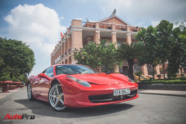 Ferrari 458 Italia từng của Phan Thành tái xuất trên phố - Ảnh 2.