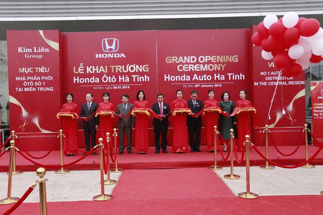 Honda khai trương đại lý 5S mới tại Hà Tĩnh - Ảnh 1.