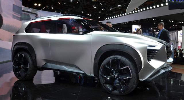 Nissan Xmotion Concept: Bữa tiệc công nghệ - Ảnh 11.