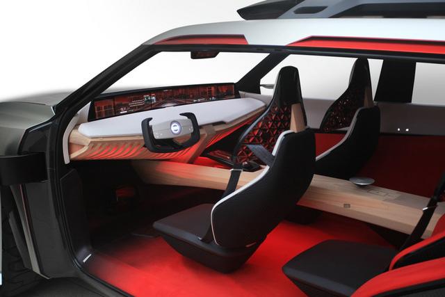 Nissan Xmotion Concept: Bữa tiệc công nghệ - Ảnh 9.