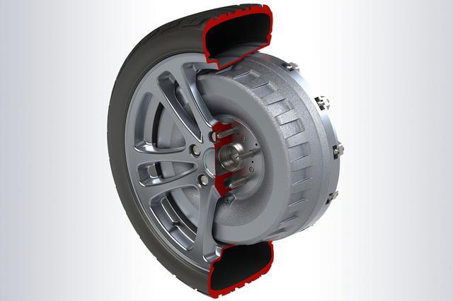"""Sản xuất xe điện sẽ dễ hơn với công nghệ """"mô-tơ trong bánh xe"""" - Ảnh 1."""