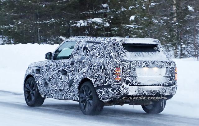 Cạnh tranh Lamborghini Urus, Range Rover Coupe 2 cửa lần đầu lộ diện - Ảnh 5.