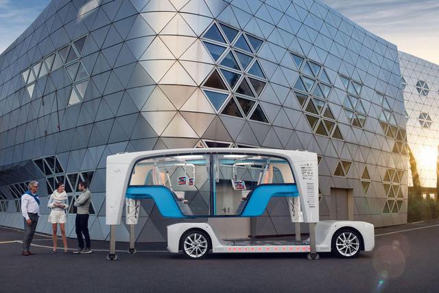 CES 2018: Ô tô trở về tương lai - Ảnh 5.