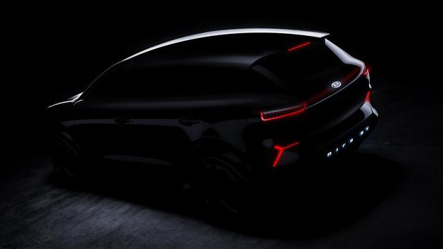 """Kia """"nhá hàng"""" xe điện Niro dùng màn LED thay lưới tản nhiệt tại CES 2018 - Ảnh 3."""