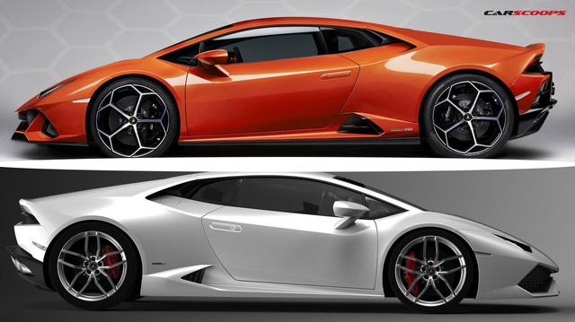 So găng Lamborghini Huracan EVO 2020 và Huracan LP610-4
