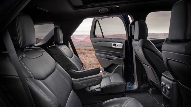 Ra mắt Ford Explorer 2020: Thay đổi lớn nhất trong 10 năm qua, khung gầm mới, nội thất mới - Ảnh 6.