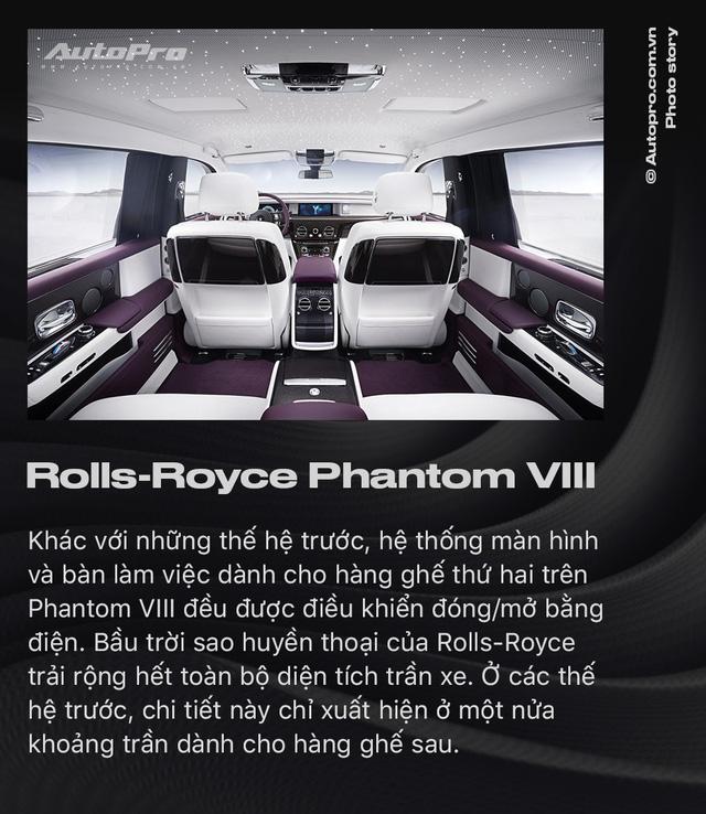 10 điều khác biệt của Rolls-Royce Phantom VIII vừa về Việt Nam - Ảnh 10.