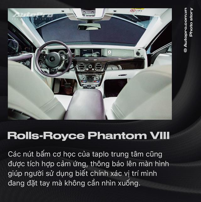 10 điều khác biệt của Rolls-Royce Phantom VIII vừa về Việt Nam - Ảnh 8.