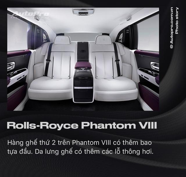 10 điều khác biệt của Rolls-Royce Phantom VIII vừa về Việt Nam - Ảnh 9.