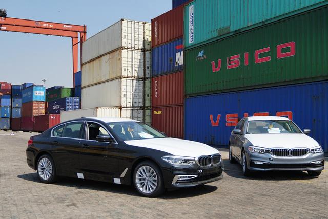 Lộ ảnh BMW 5-Series 2019 đầu tiên Việt Nam - Ảnh 1.