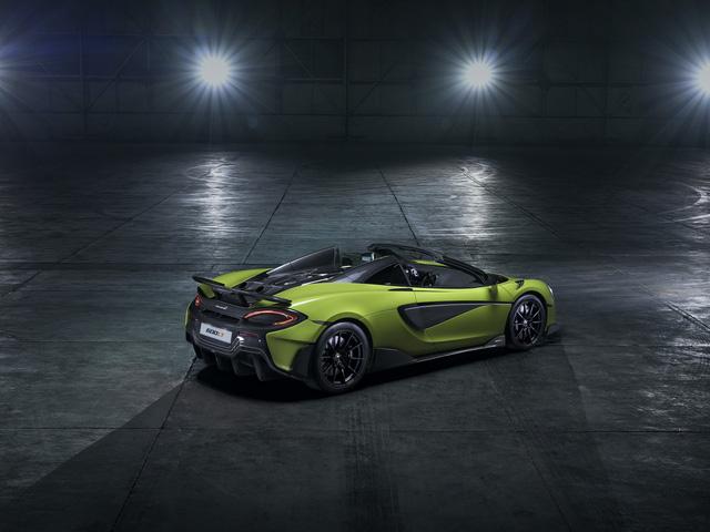 McLaren ra mắt 600LT Spider hoàn toàn mới - Siêu phẩm đầu tiên năm 2019 - Ảnh 4.