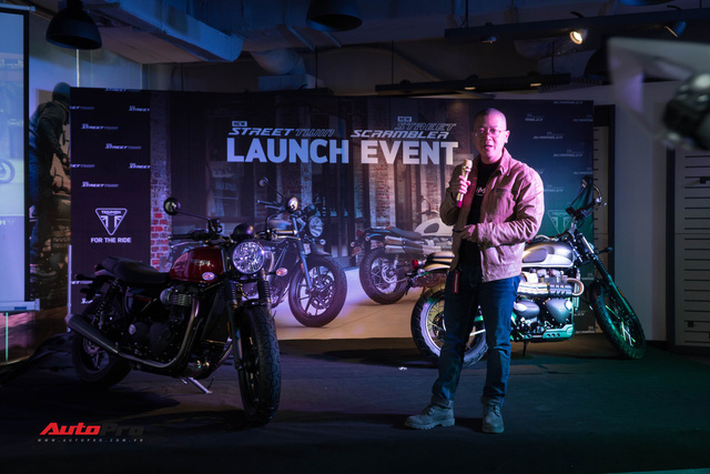 Triumph thêm 2 mẫu phân khối lớn tại Việt Nam, đối đầu Ducati Scrambler - Ảnh 1.