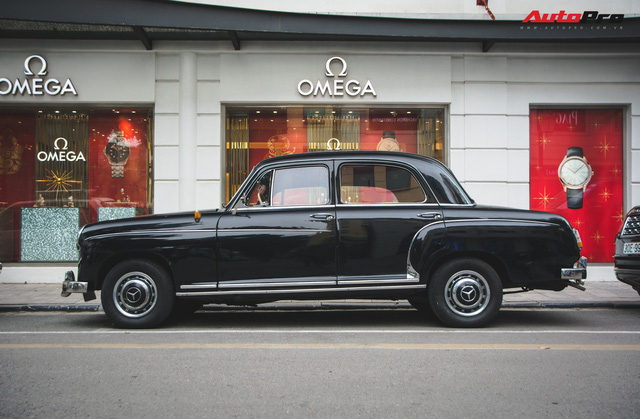 Mercedes-Benz 190 - Xe sang hàng hiếm gần 60 năm tuổi tại Việt Nam - Ảnh 4.