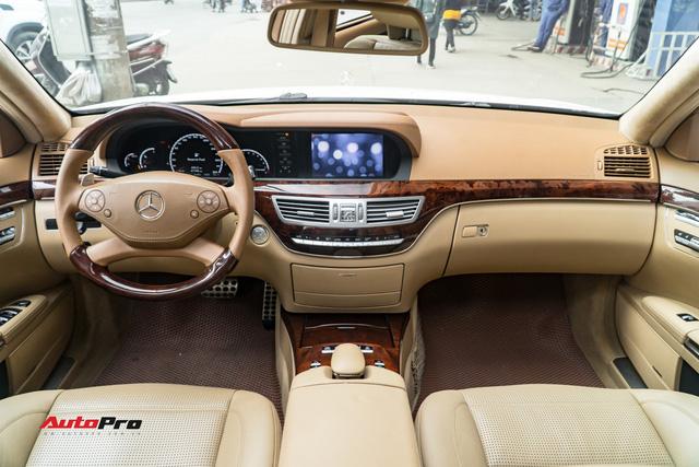 Mercedes-AMG S63 2009 - Cỗ máy hơn 500 mã lực giá chưa đến 2 tỷ đồng - Ảnh 8.
