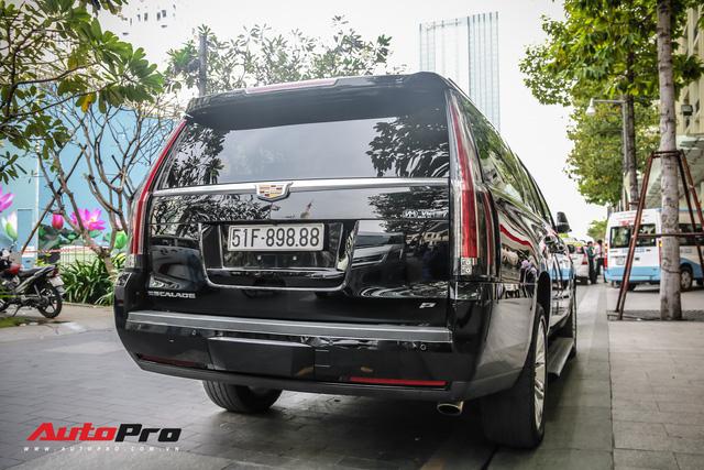 Cadillac Escalade 2015 biển khủng tứ quý 8 trên phố Sài Gòn - Ảnh 10.
