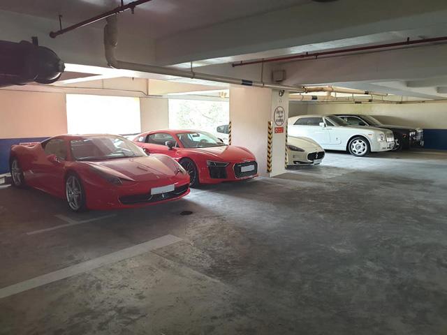 Hầm siêu xe, xe sang hàng triệu USD giữa lòng Sài Gòn - Ảnh 1.