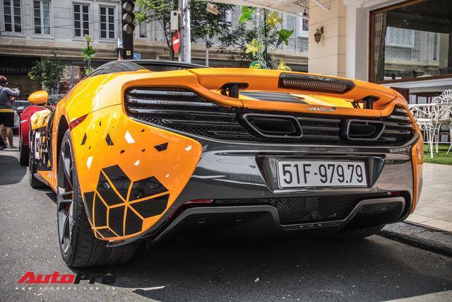 Khi fan cuồng đồng hồ Richard Mille đổi màu siêu xe McLaren 650S Spider - Ảnh 6.