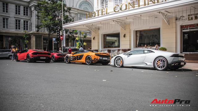 Bốn chiếc siêu xe tụ tập những ngày cuối năm tại Sài Gòn - Ảnh 7.
