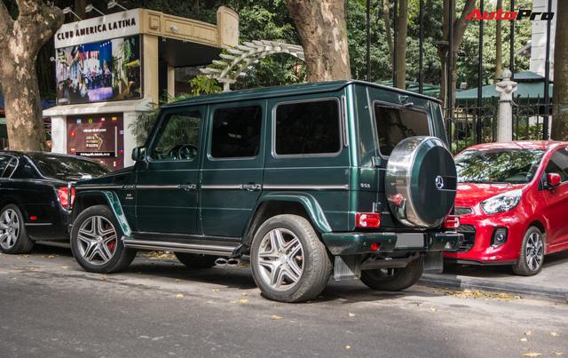 Chi tiết này giúp chiếc Mercedes-AMG G63 7 tỷ của đại gia Hà Nội dù cũ nhưng vẫn cuốn hút và độc nhất Việt Nam - Ảnh 3.