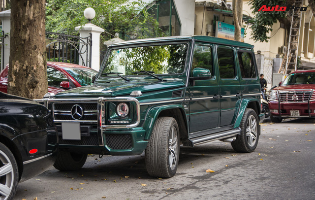 Chi tiết này giúp chiếc Mercedes-AMG G63 7 tỷ của đại gia Hà Nội dù cũ nhưng vẫn cuốn hút và độc nhất Việt Nam - Ảnh 1.