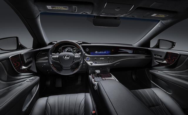 Lexus LS 2019 ra mắt Việt Nam, giá khởi điểm xấp xỉ Mercedes-Maybach - Ảnh 4.