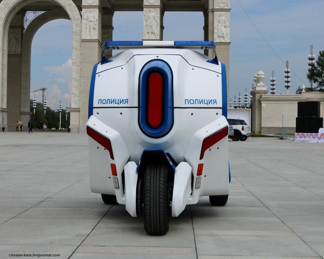 Đây là xe cảnh sát mới của người Nga với thiết kế cực theo trend - Ảnh 5.