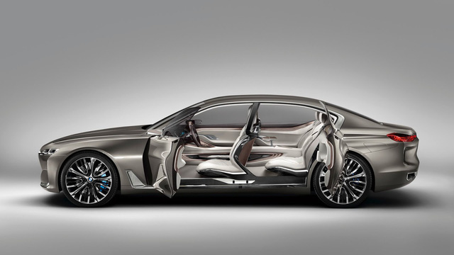 BMW 9-Series cạnh tranh Rolls-Royce chỉ còn là trong mơ