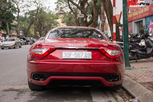 Maserati GranTurismo chính hãng đầu tiên và duy nhất tại Việt Nam có biển số siêu đẹp - Ảnh 5.