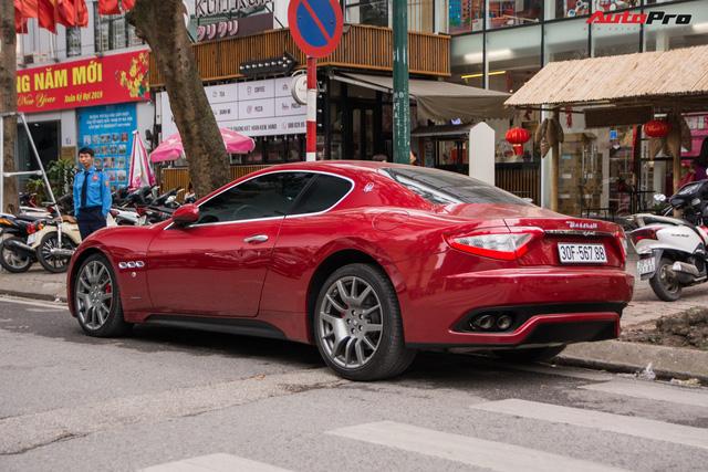 Maserati GranTurismo chính hãng đầu tiên và duy nhất tại Việt Nam có biển số siêu đẹp - Ảnh 2.