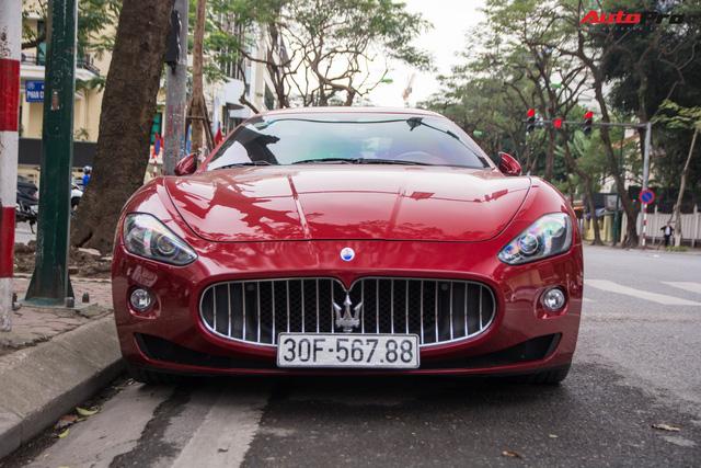 Maserati GranTurismo chính hãng đầu tiên và duy nhất tại Việt Nam có biển số siêu đẹp - Ảnh 3.