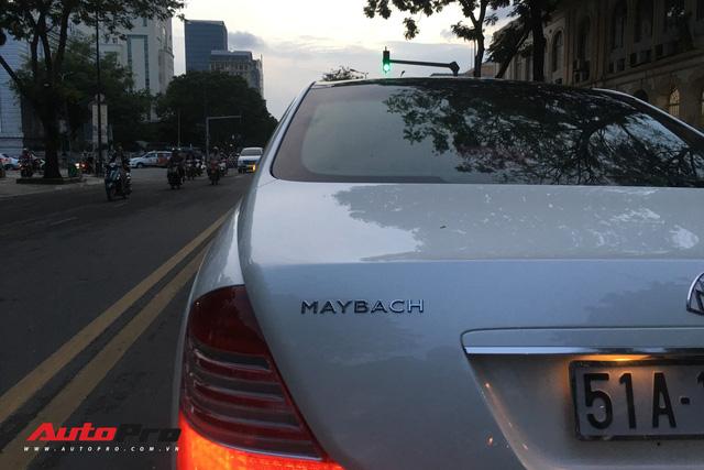 Maybach 62S màu trắng hàng hiếm thuộc bộ sưu tập hầm gửi xe triệu đô - Ảnh 14.