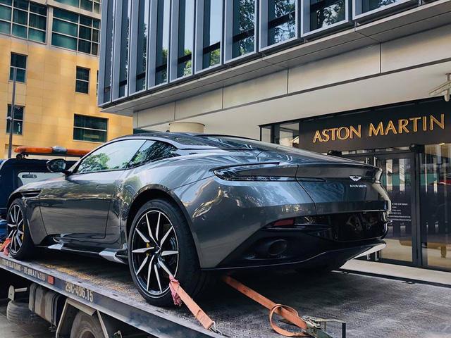 Aston Martin DB11 V8 đầu tiên tại Việt Nam về tay đại gia Vũng Tàu sở hữu Lamborghini và Ferrari - Ảnh 3.