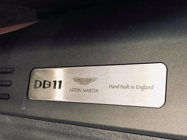 Aston Martin DB11 V8 đầu tiên tại Việt Nam về tay đại gia Vũng Tàu sở hữu Lamborghini và Ferrari - Ảnh 5.