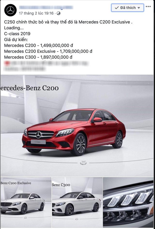 Mercedes-Benz C-Class 2019 lộ ảnh nội thất và giá bán dự kiến từ 1,499 tỷ đồng tại Việt Nam - Ảnh 1.