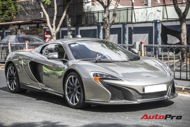 Một trong 50 chiếc McLaren 650S Spider MSO siêu hiếm trên thế giới thuộc bộ sưu tập trong hầm siêu xe triệu đô của đại gia Sài Gòn - Ảnh 6.