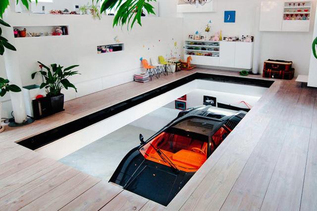 Những garage xe đáng mơ ước nhất thế giới - Ảnh 6.