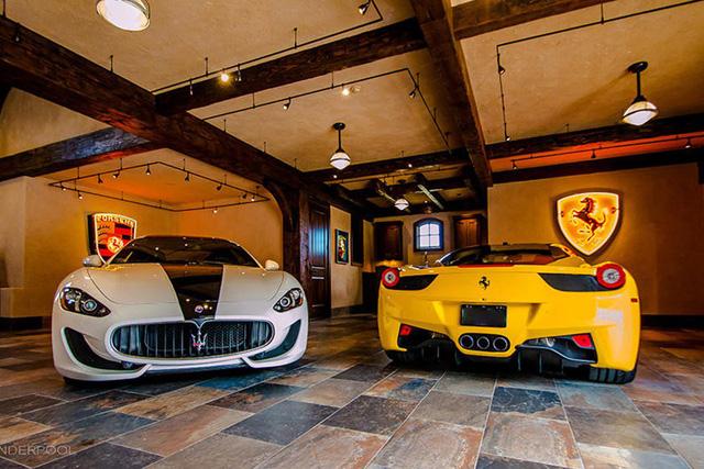 Những garage xe đáng mơ ước nhất thế giới - Ảnh 18.