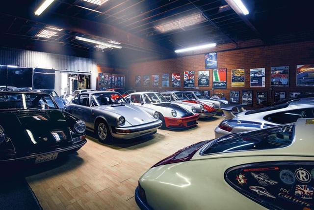 Những garage xe đáng mơ ước nhất thế giới - Ảnh 22.