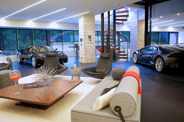 Những garage xe đáng mơ ước nhất thế giới - Ảnh 34.