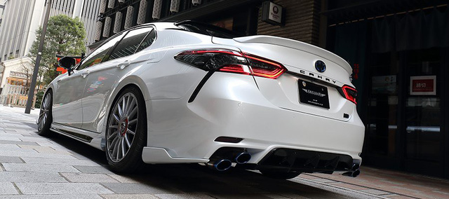 Toyota Camry đời mới độ JDM: Đã đẹp nay còn chất như Lexus - Ảnh 5.