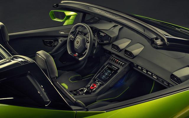 Lamborghini Huracan Evo mui trần hứa hẹn khuấy đảo triển lãm Geneva - Ảnh 6.