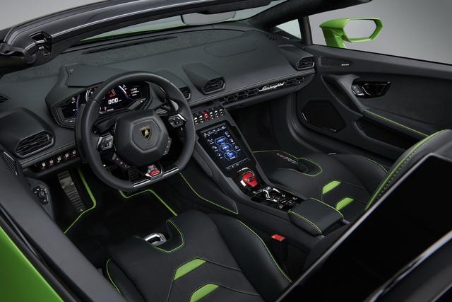 Lamborghini Huracan Evo mui trần hứa hẹn khuấy đảo triển lãm Geneva - Ảnh 5.